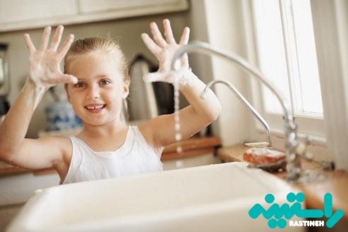 شستن دست ها