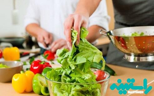پیشگیری از آفت دهانی با خوردن سبزیجات