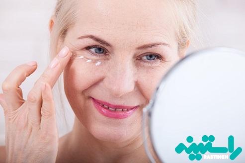 درمان چین و چروک چشم