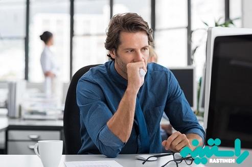 استرس کاری علل بروز حمله قلبی