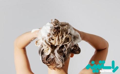 مو را کمتر بشویید