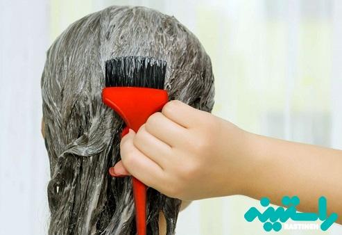 رنگ کردن مو