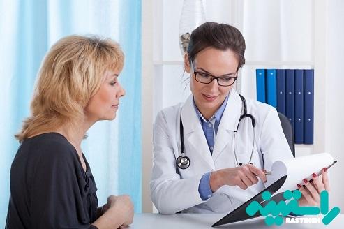 نتایج آزمایش استروژن
