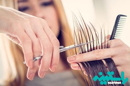 کوتاه کردن منظم موها