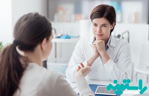 مراجعه به پزشک زنان