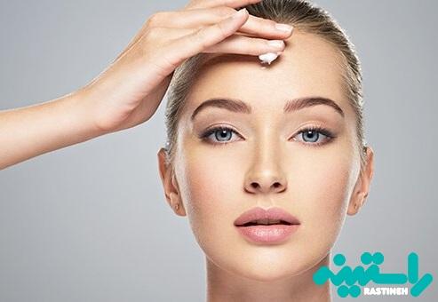 محصولات آرایشی برای رفع خطوط پیشانی