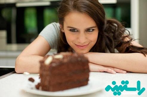 خوردن شیرینی